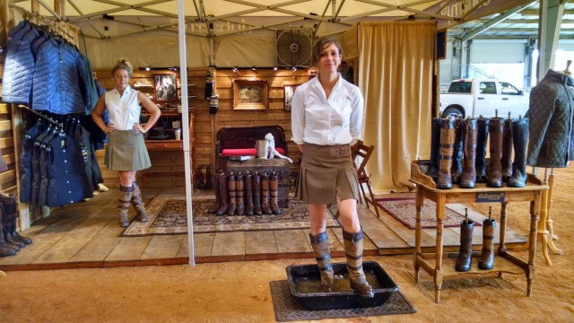 Dubarry girls in the house! Photo by Lindsey Kahn