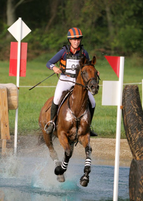 Lauren Kieffer and Meadowbrook's Scarlett. Photo by Kasey Mueller.