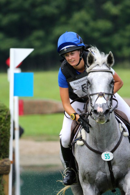 Allie Sacksen and Sparrow's Nio at Richland CIC3*. Photo courtesy of Kasey Mueller.