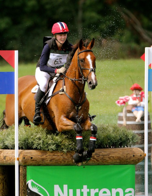 Avery Klunkick and In It to Win It at Richland CIC3*. Photo courtesy of Kasey Mueller.
