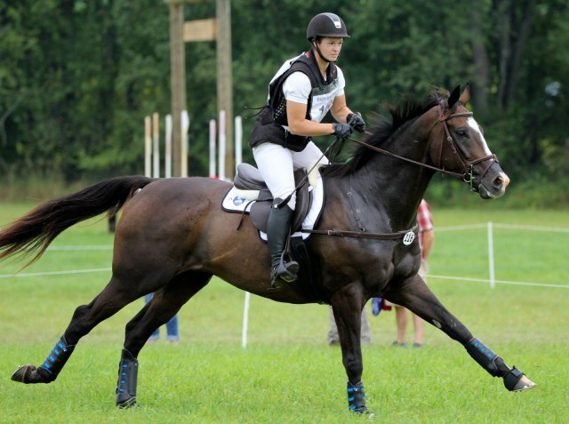 Leah Lang-Gluscic and A.P. Prime at Richland Park. Photo by Kasey Mueller.