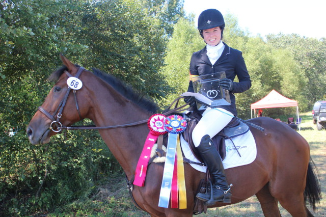 Molly McBride and Rittenhouse Square: Low Score TB for Beginner Novice and Overall