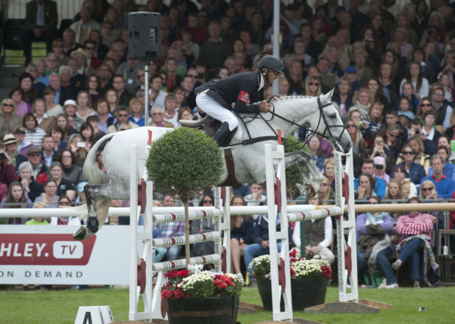 Andrew Nicholson & Avebury at Burghley last year. Photo by Kit Houghton.