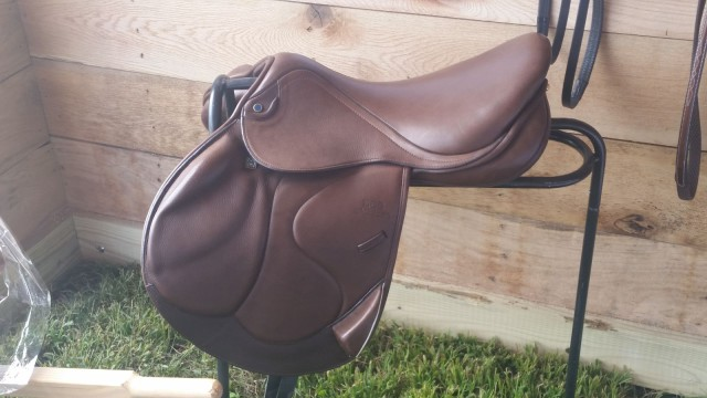 The Stubben Zaria saddle is truly a thing of beauty...