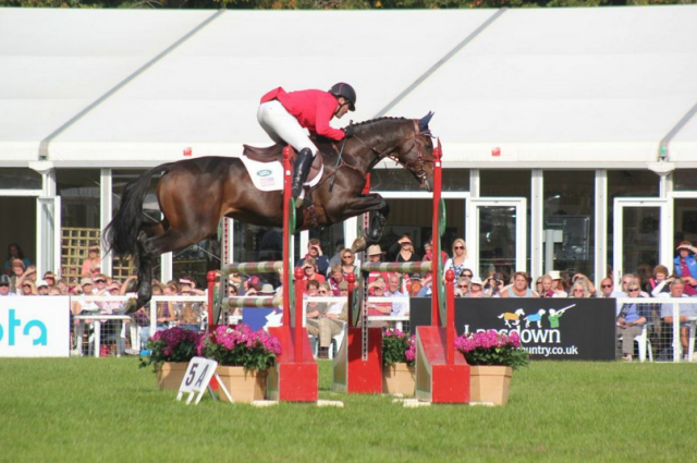 Phillip Dutton and Fernhill Cubalawn. Photo courtesy of Samantha Clark for PRO.