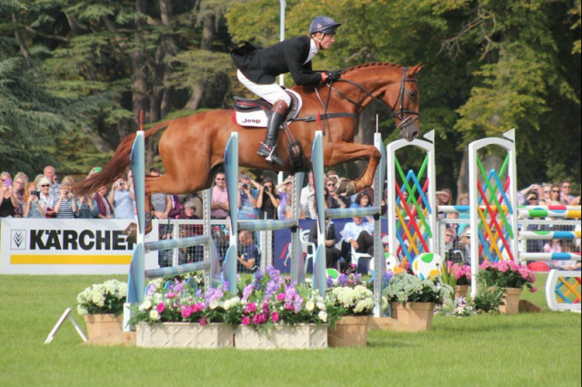 William Fox-Pitt and Freddie Mac. Photo courtesy of Samantha Clark for PRO.