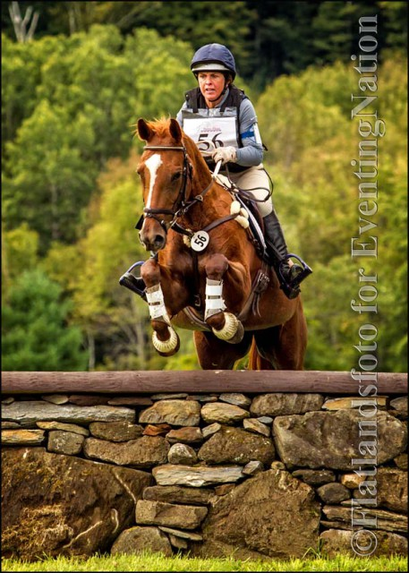 Winners of the Training Rider division: Kay Slater and Tornada, used with permission Flatlandsfoto