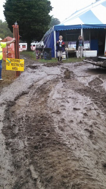 Fair Hill Mud Wrestling, anyone? Photo via Ashley Kehoe's FB.