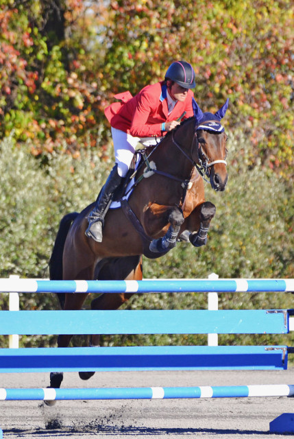 Boyd Martin and Master Frisky. Photo by Jenni Autry.