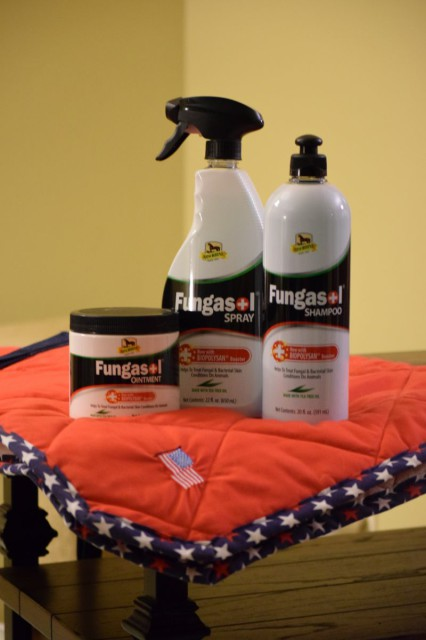 Fungasol is a complete system of products, which is available in shampoo, spray, and ointment forms - Photo by Lorraine Peachey