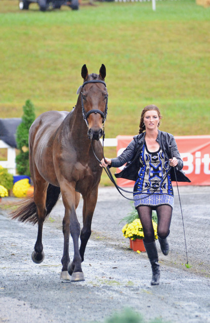 Emily Hamel and Ramsey. Photo by Jenni Autry.