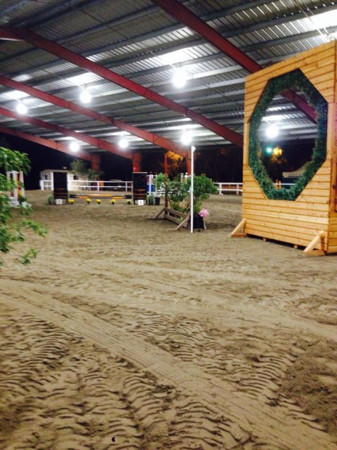 A peek at the course via Jennifer Wooten on Facebook.