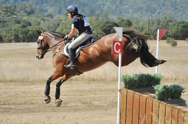 Lauren Billys and Castle Larchfield Purdy. Photo courtesy of Sherry Stewart.