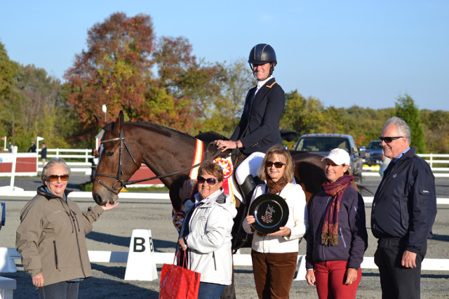 Lauren Kieffer and Landmark's Jungle ROC. Photo by Jenni Autry.
