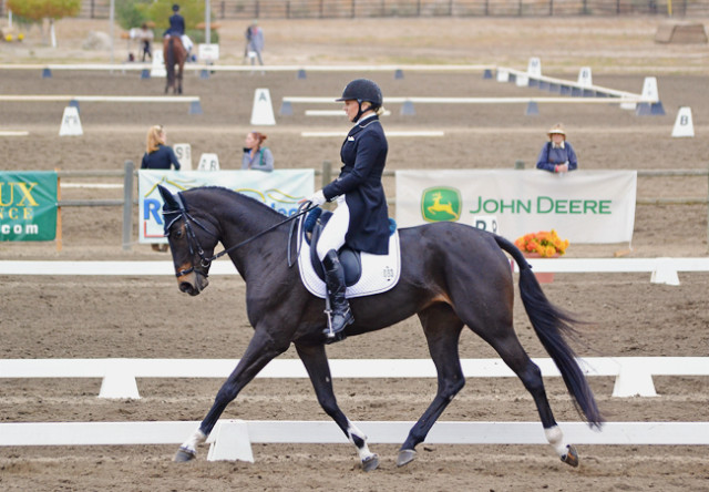 Marilyn Little and RF West Indie at Galway Downs. Photo by Jenni Autry.
