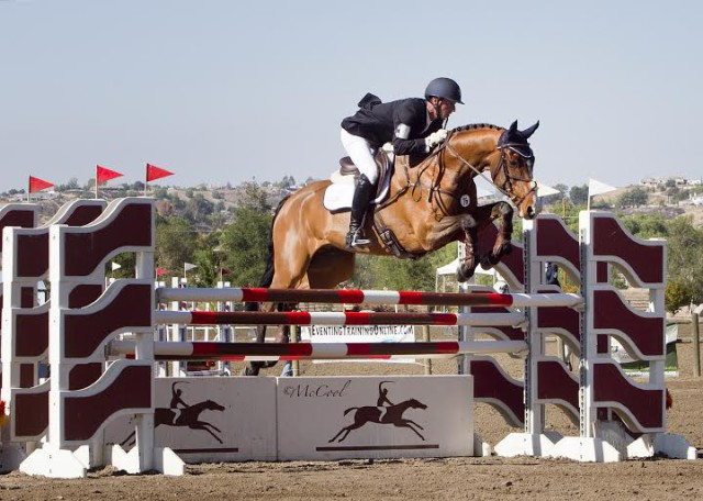 BCF Bellicoso and Matt Brown, winners of the Galway Downs CCI2* last year. Photo by Amy McCool.