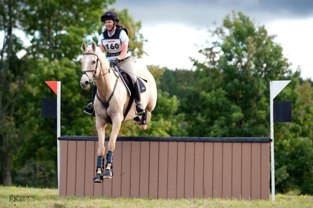 Melissa Laird and Austin at OHTA Championships. Photo courtesy of Andrew Bailini.