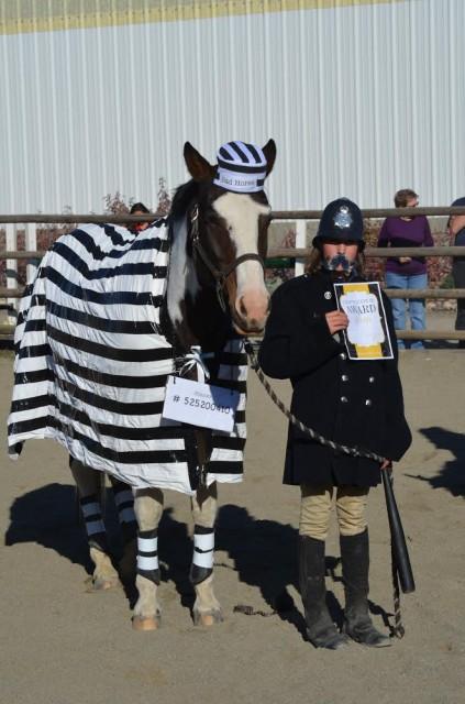Willa (girl) and Sofie (horse) Photo courtesy of Jennifer Card.