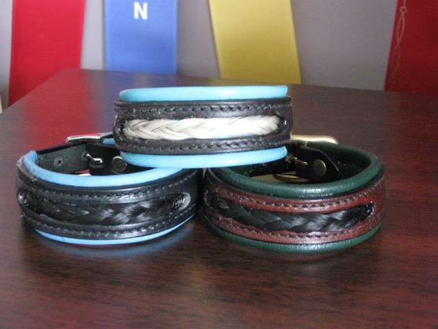 Enter At A, LLC's custom horsehair jewelry