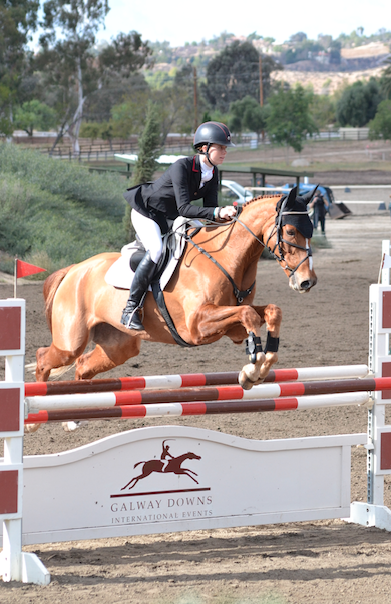 Caroline Martin and Spring Easy. Photo by Jenni Autry.