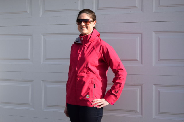 I've been pleasantly surprised the Equator Jacket looks great to wear out around town even after it's been worn quite frequently around the barn - Photo by Lorraine Peachey