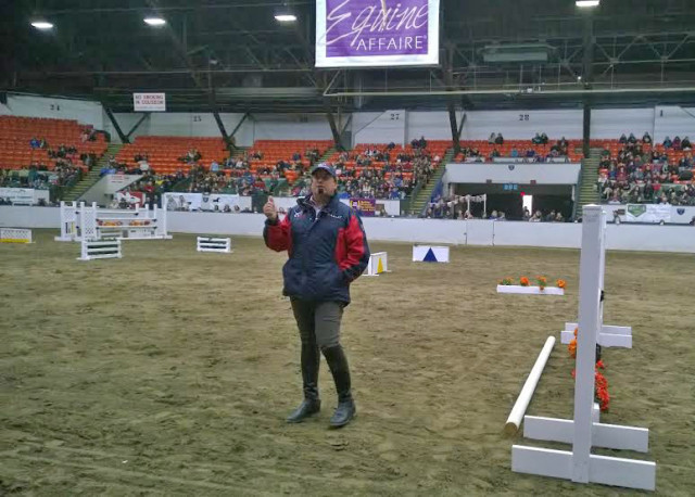 David O'Connor at Equine Affaire. Photo by Katie Osborne.