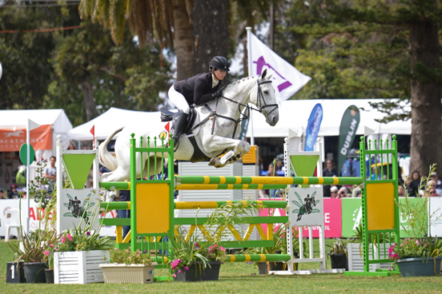 Jessica Manson and Legal Star. Photo courtesy of Julie Wilson/FEI.