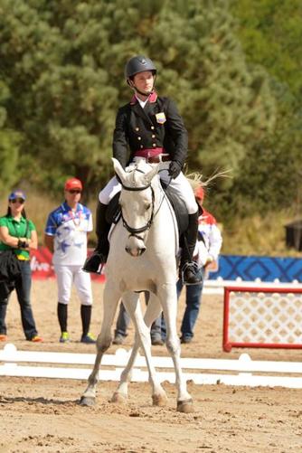 Juan Larrazabal and Alasca LV Z. Photo by Hector Garrido.