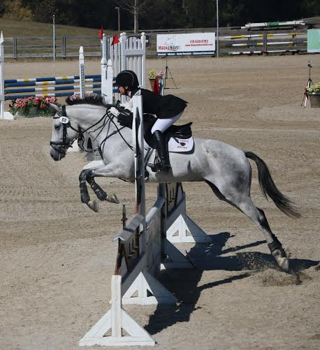 Libby Head and Voulez-Vous. Photo courtesy of UGA Eventing.
