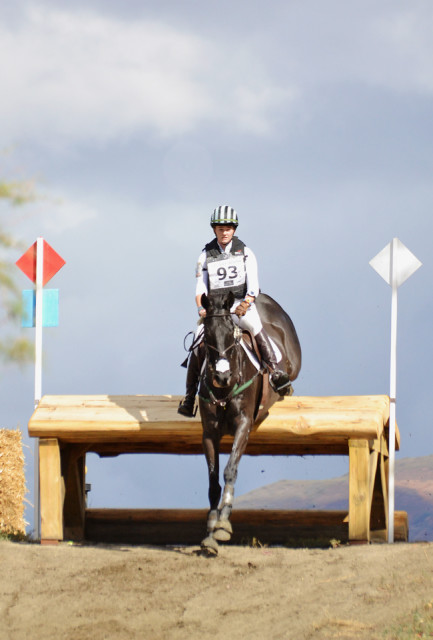 Lizzie Snow and Coal Creek at Galway Downs CCI3*. Photo by Jenni Autry.
