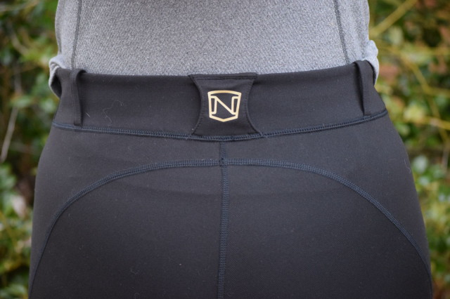 Even though the Balanced Riding Tights are pull-on, they do feature belt loops, which gives them the nice and traditional appearance of breeches when you just add a belt - Photo by Lorraine Peachey