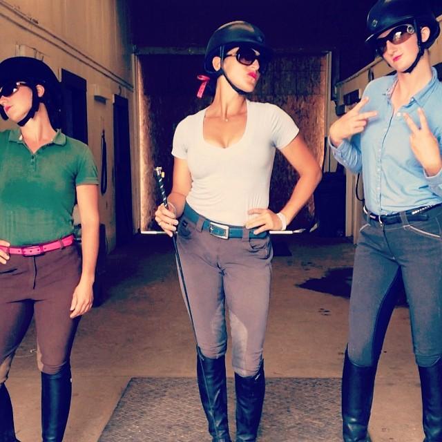Lainey Ashker & Co. love their C4 belts! Photo via Lainey on Facebook.