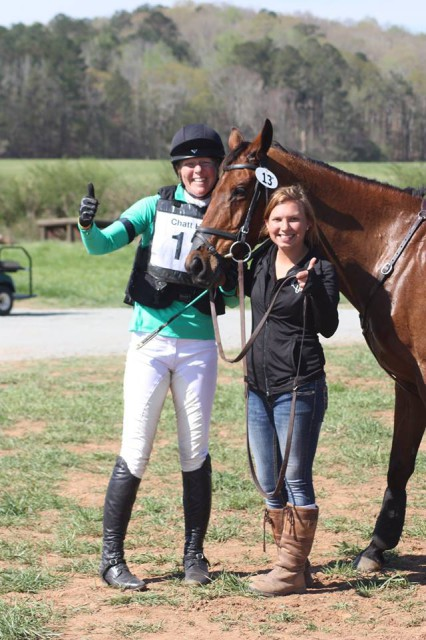 Jade Anderson, Amicor (Lucy) and Holly Malcom at Chattahoochee Hills. Photo by Meredith Crow