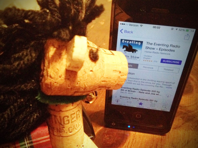 Cork Pony checks out the Eventing Radio Show's latest episodes.