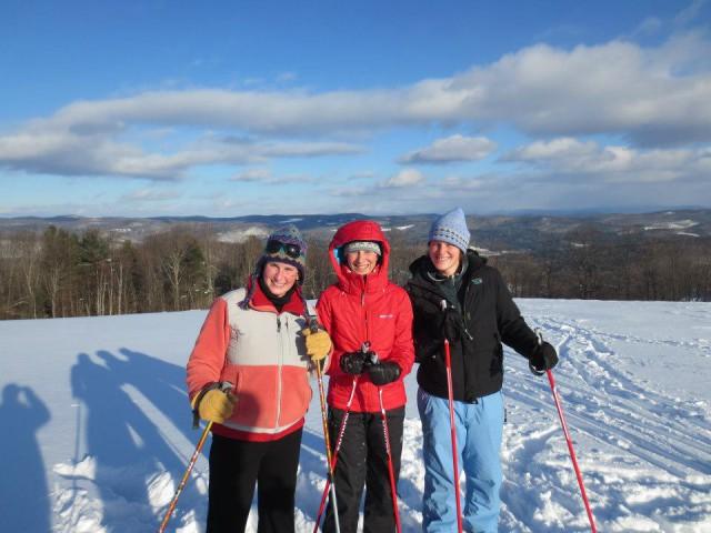 Sister Ski Day!