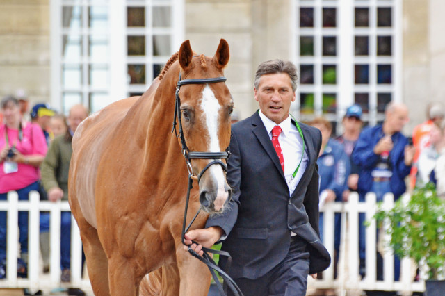 Andrew Nicholson and Nereo at WEG. Photo by Jenni Autry.