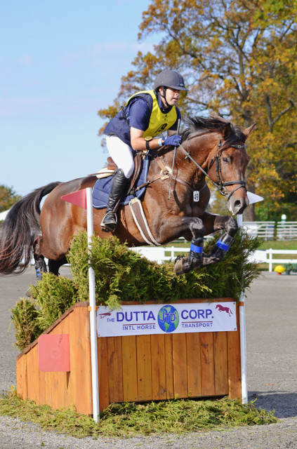 Andrew Palmer and Tatendrang at Fair Hill. Photo by Jenni Autry.