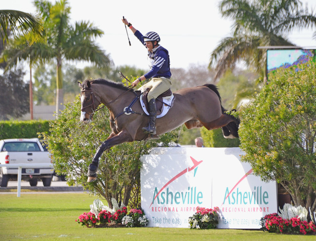 Last year's Wellington Eventing Showcase winners: Boyd Martin and Trading Aces. Photo by Jenni Autry.