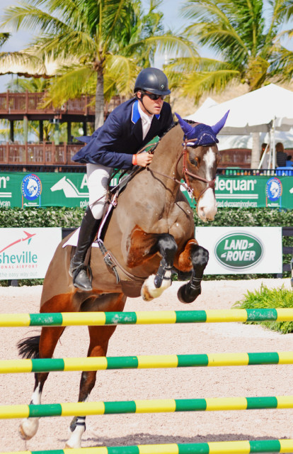 Boyd Martin and Trading Aces. Photo by Jenni Autry.