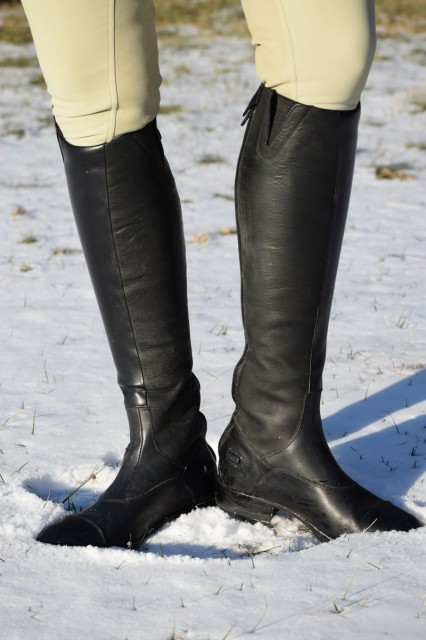 It was a welcome surprise when I learned that the Monaco Stretch boots also boast a similar oiled calf leather inner that provides that same terrific grip and durability (of the Volant boots) - Photo by Lorraine Peachey