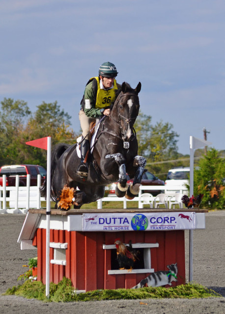 Ryan Wood and D-Day Vant Plantanenhof at Fair Hill. Photo by Jenni Autry.