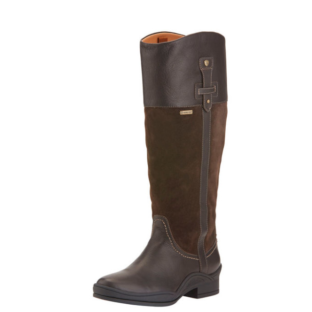The Ariat Lakeland H2O Boot in Ebony. Photo from Ariat.