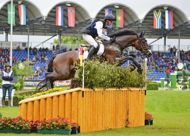 Andreas Dibowski and FRH Butts Leon at Aachen 2013. Photo by Jenni Autry.