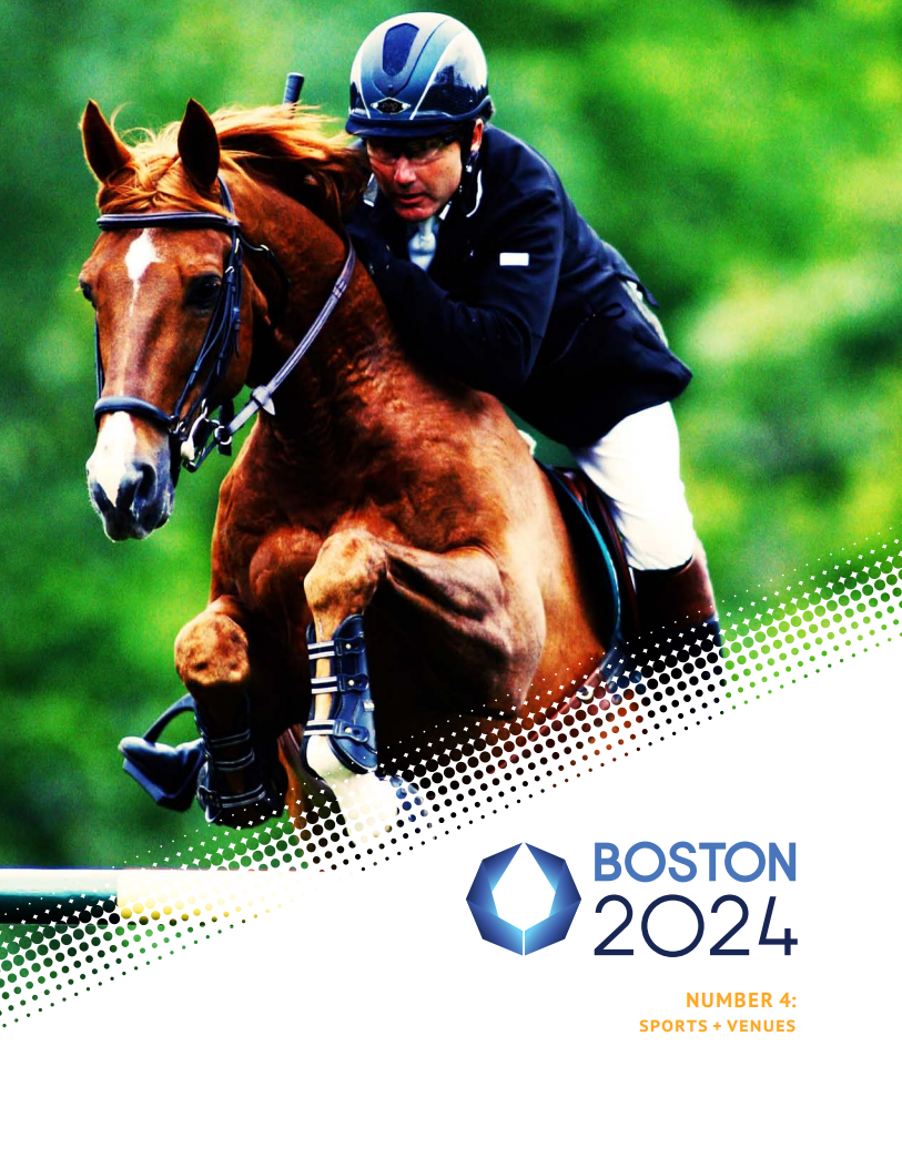 Photo from the cover of Number 4: Sports + Venues, 2024Boston.org.
