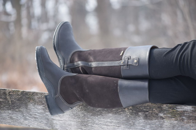 The Lakeland boots also feature Ariat's Advanced Torque Stability (ATS) Technology, which helps to provide all day support and comfort for feet - Photo by Lorraine Peachey