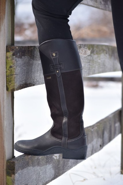 While being waterproof by itself is great, the Lakeland boots also feature a GORE-TEX lining as well - which along with being waterproof is also BREATHABLE - Photo by Lorraine Peachey