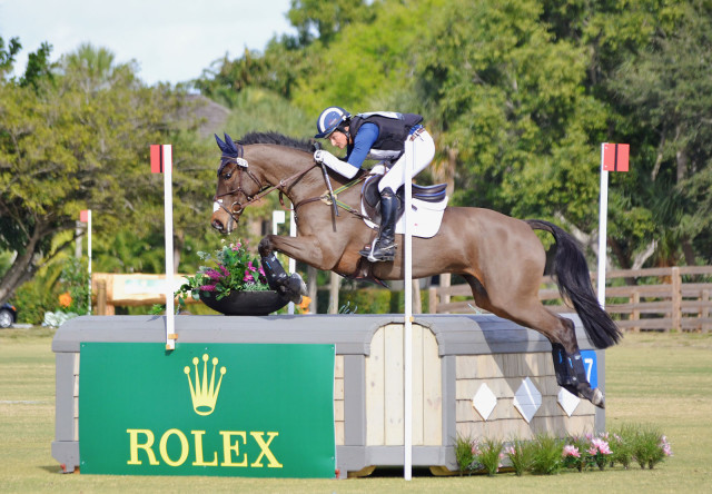 Jennie Brannigan and Cambalda at the Wellington Eventing Showcase. Photo by Jenni Autry.