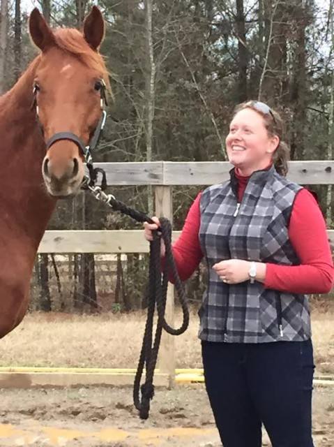 Kathryn and Baratheon in December 2014. Photo by Tiffany Palmer.