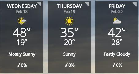 Screenshot via weather.com