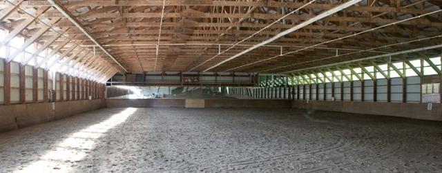 The iconic indoor. Photo courtesy of Gathering Farm.
